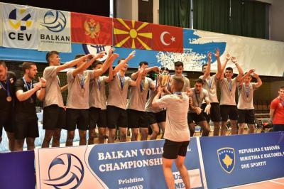 Поздравления за балканската титла на отбора до 19