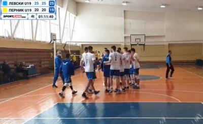 3 победи от 3 мача за юношите на Левски