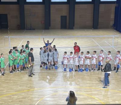 Левски със сребро от шампионата за мини волейбол
