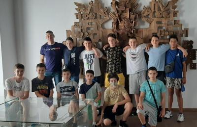 Момчетата посетиха исторически музей