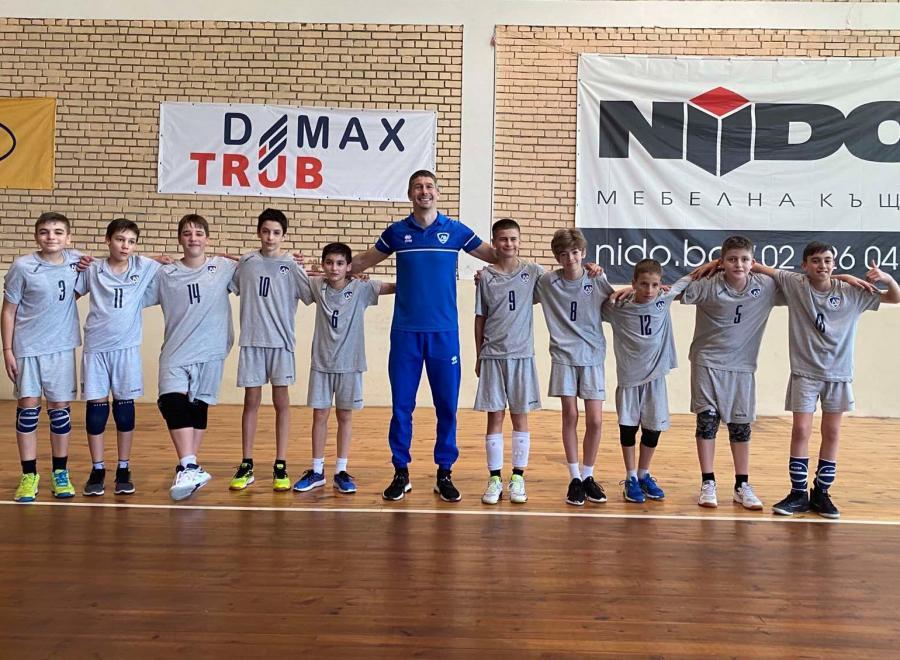 Левски приема финали на мини волейбол